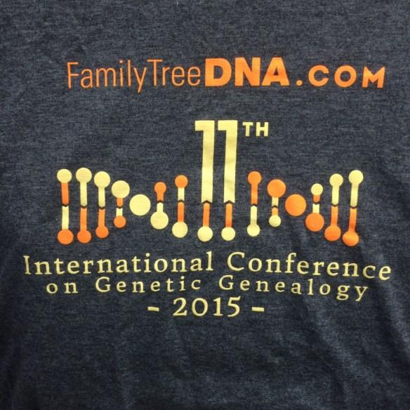 2015 ftdna tshirt