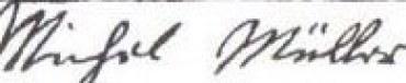 Michael Mueller signature