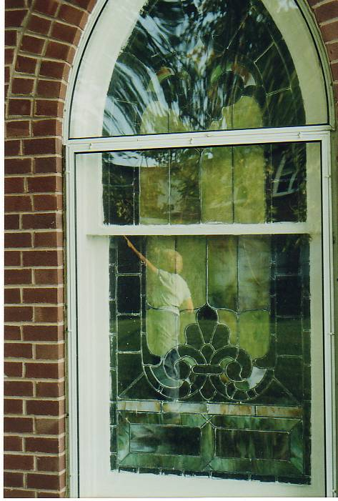Mom church window