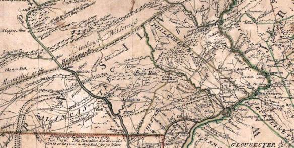 Monocacy old map