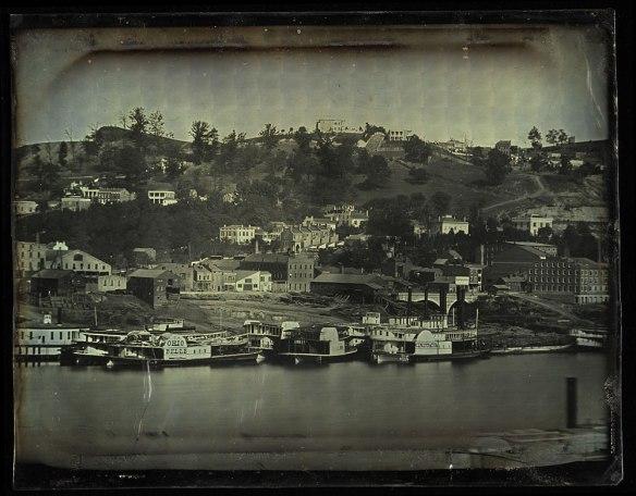 1848 Ohio steamboat cincy