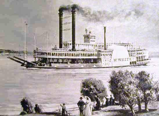 Aurora steamboat