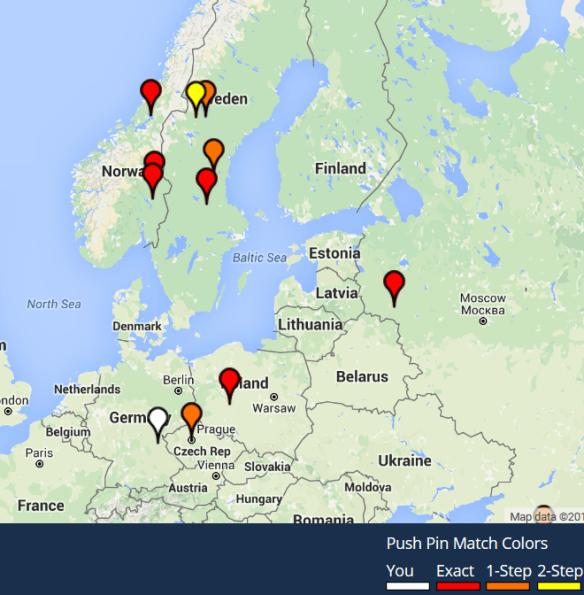 match matches map'
