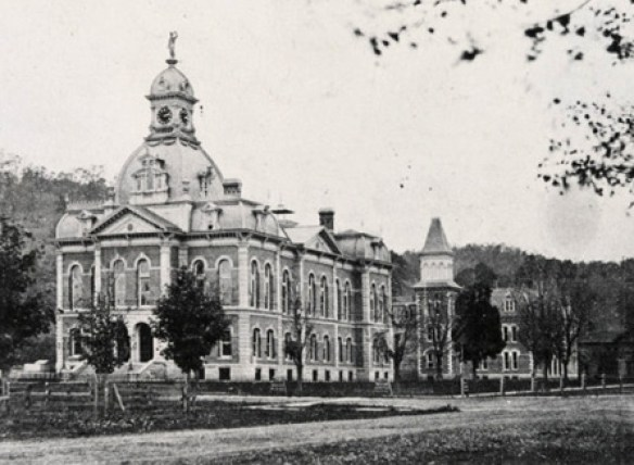 Warren Co courthouse 1877