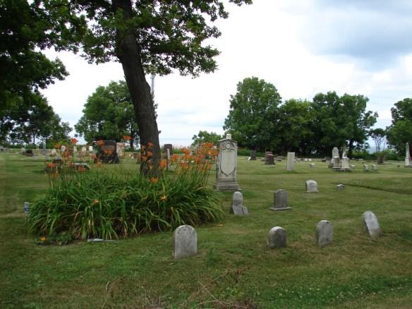 Cemetery Lake Michigan