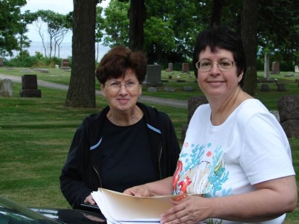 Oakwood Waukegan Ann and me