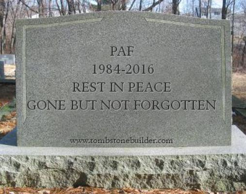 paf tombstone
