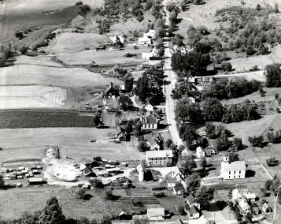 Starksboro 1950 aerial