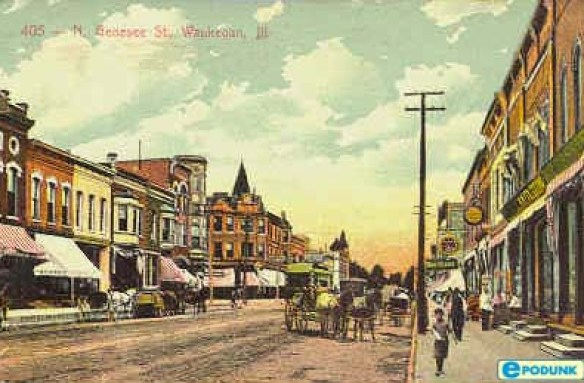 Waukegan downtown