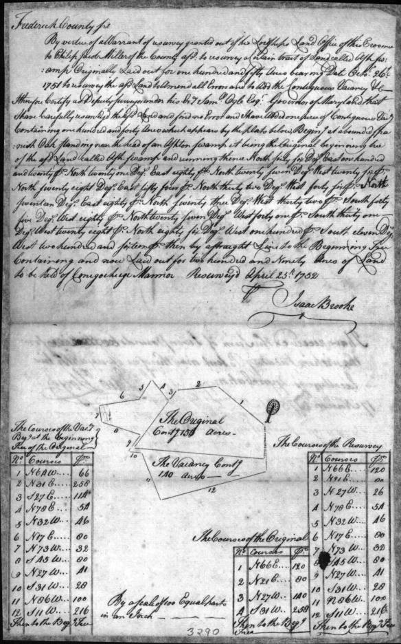 1753 Ash Swamp resurvey 2