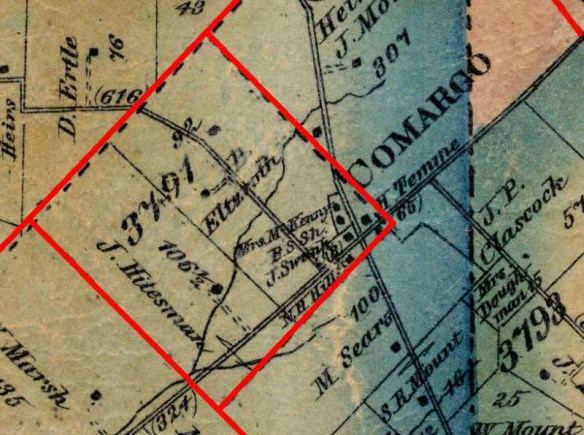 Miller 3791 tract map