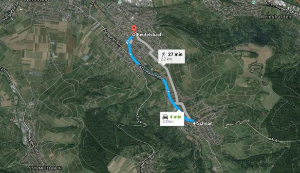 Lentz Beutelsbach to Schnait