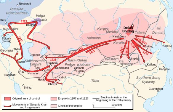 Lentz Genghis Khan empire