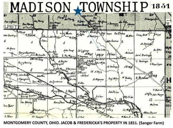Margaret Lentz 1851 Montgomery co map