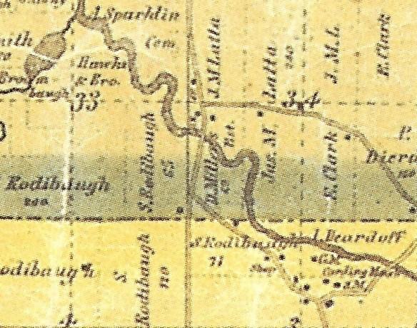 David Miller 1851 plat map