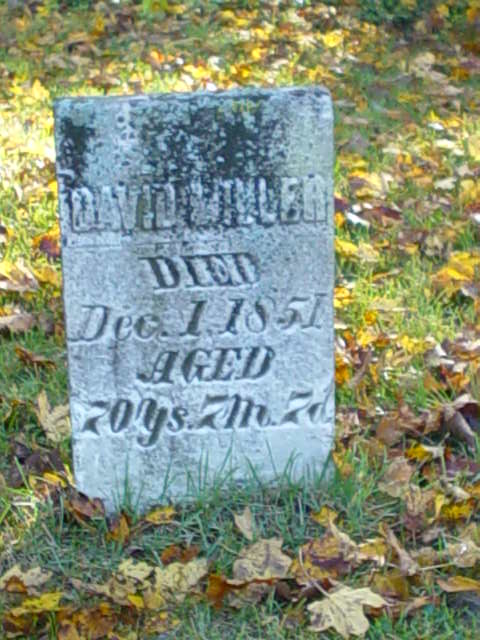 David Miller Baintertown stone