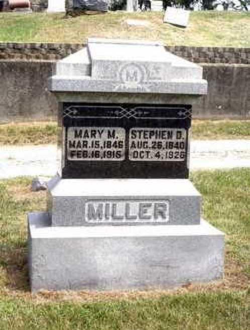David Miller son Stephen stone
