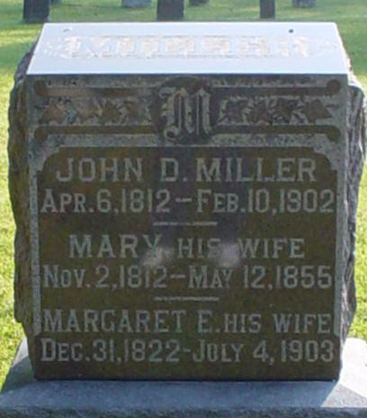 JDM headstone