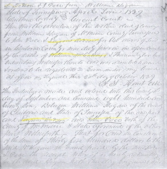 dodson-1826-deed