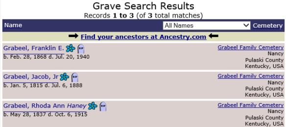 mary-grabeel-cemetery-burials