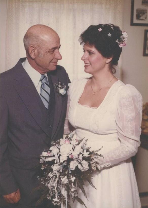 Me Dad wedding