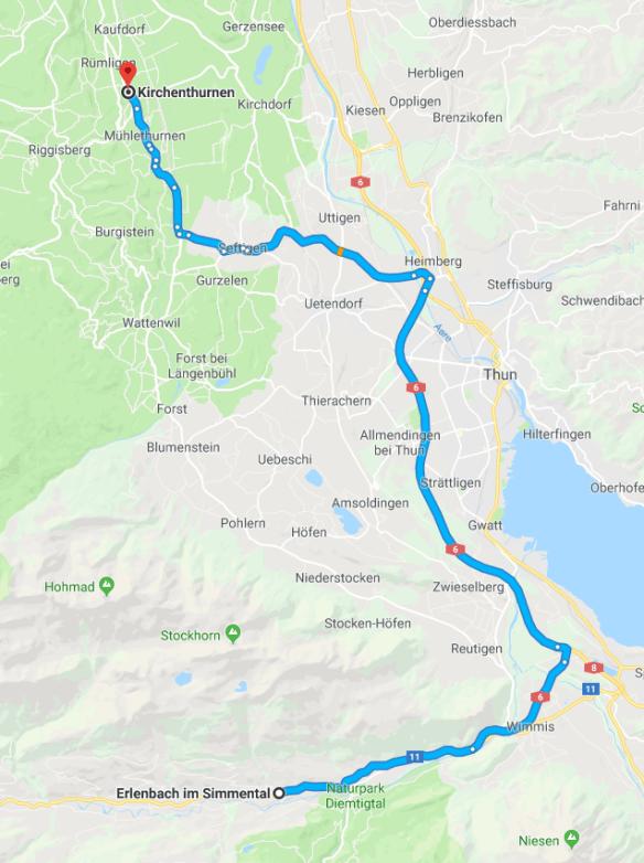 Schwarzenmatt Thurnen Erlenbach