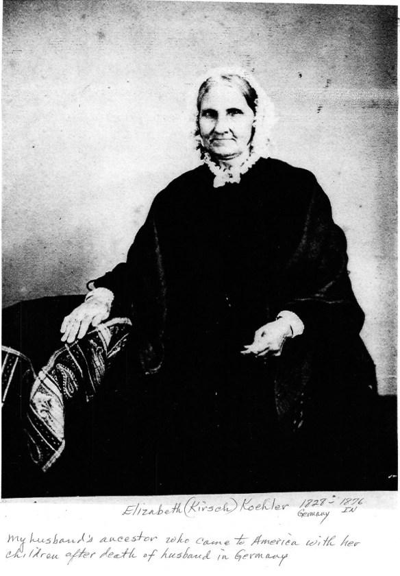 Anna Elisabetha Kirsch Koehler 1828-1876