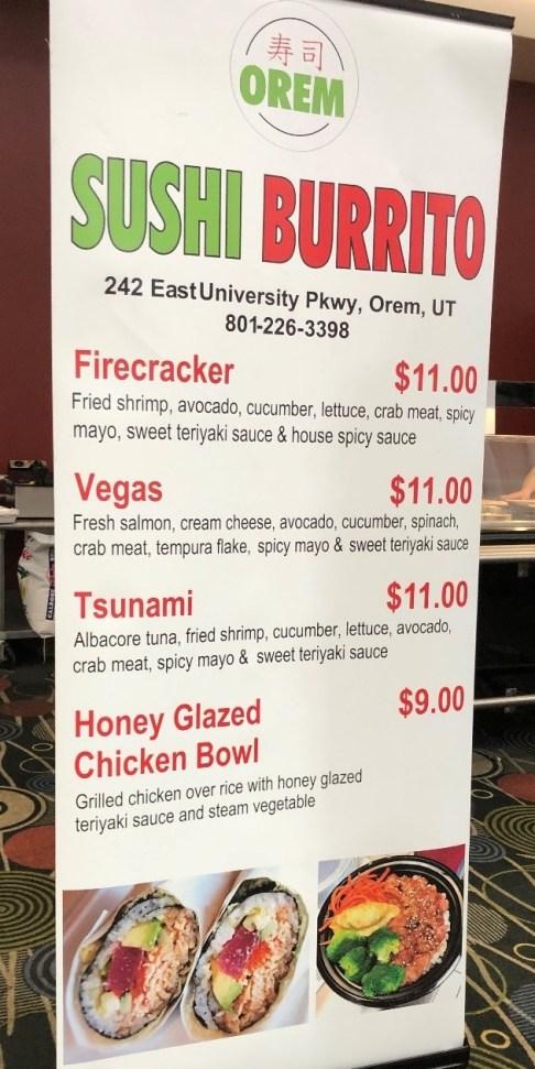 2019 sushi burrito