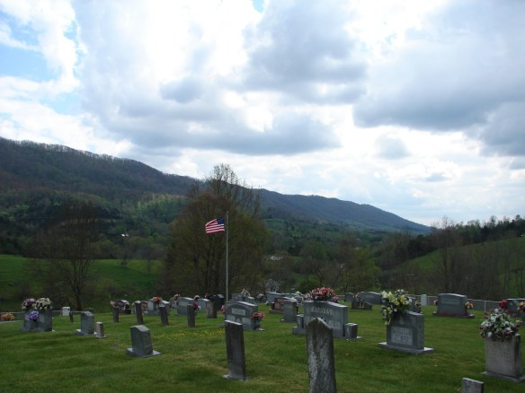 Jane Dobkins Liberty Cemetery towards Dobkins land.jpg