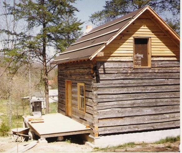 Nicholas Speaks cabin reconstruction.jpg