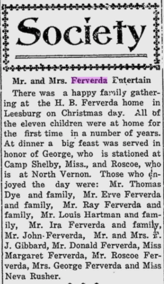 Hiram Ferverda 1917 all home for Christmas.png