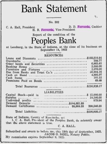 Hiram Ferverda 1923 bank 3.png