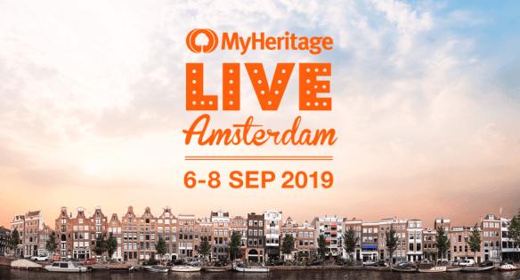 MyHeritage LIVE Amsterdam 2019