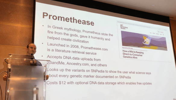 MyHeritage Live Promethease
