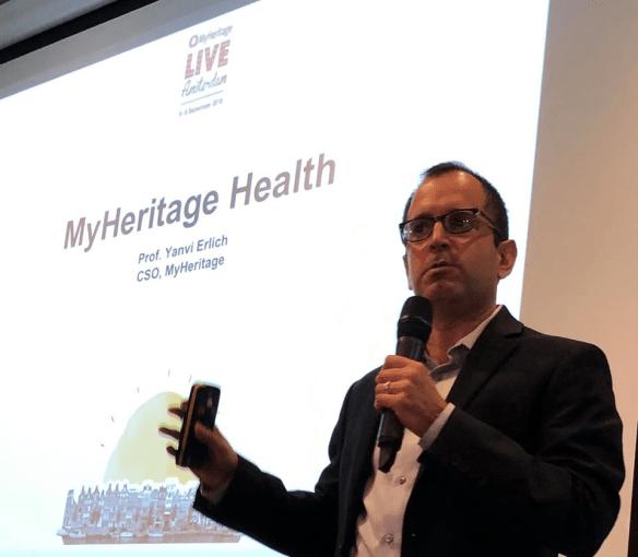 MyHeritage Live Yaniv Erlich