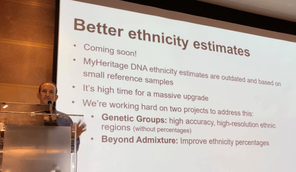 MyHeritage Live ethnicity estimates