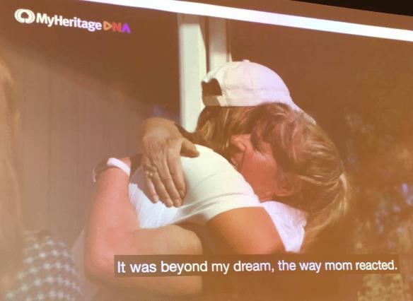 MyHeritage Live reunion