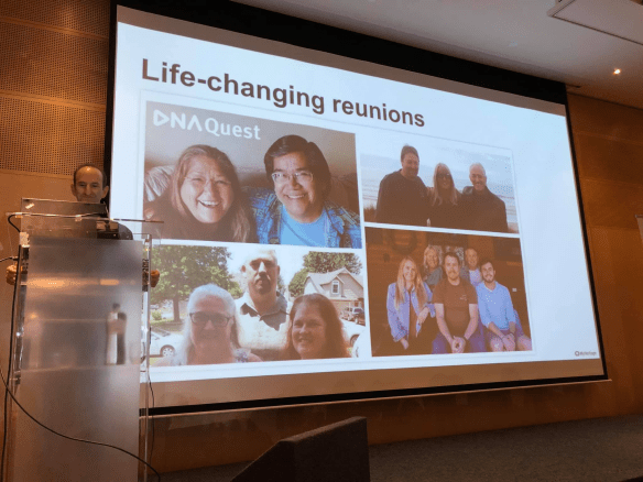 MyHeritage Live reunions