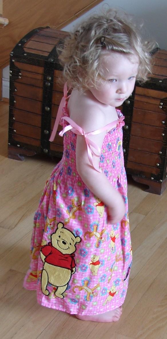 Phoebe sister with Disney dress.jpg