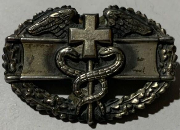 Sadowski combat medic badge.jpg