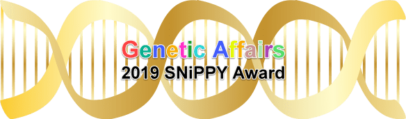 Genetic Affairs 2019 SNiPPY Award.png