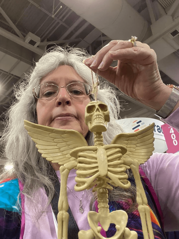 RootsTech 2020 skeleton
