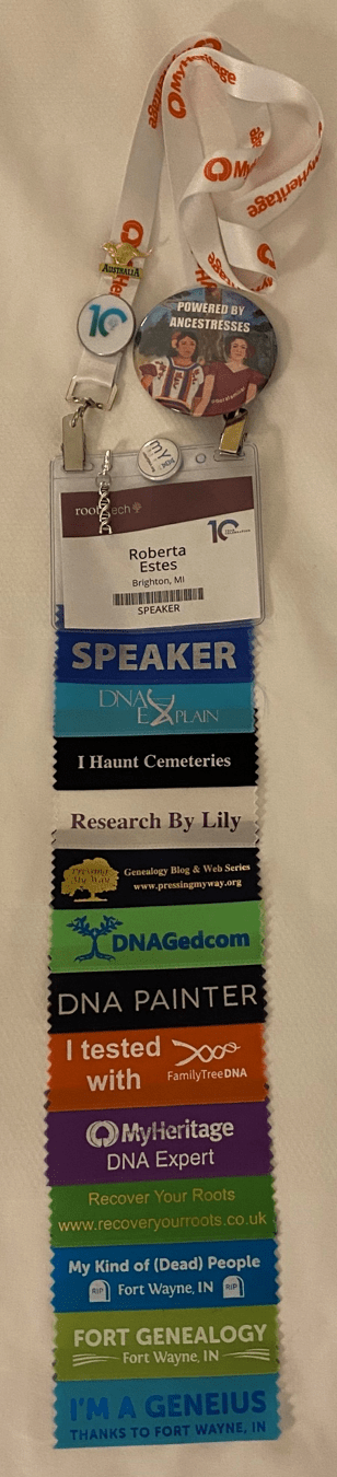 Rootstech 2020 ribbons