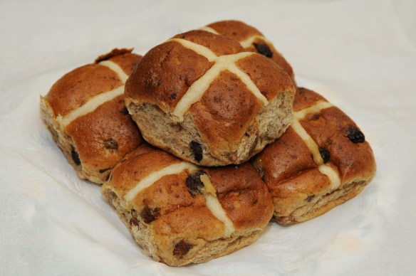 Haag Michael hot cross buns