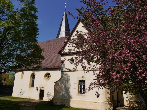 Margaretha Bechtold Heiningen church south side