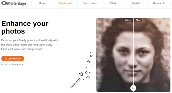 Estes MyHeritage enhance