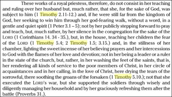 Kirsch 1 Timothy