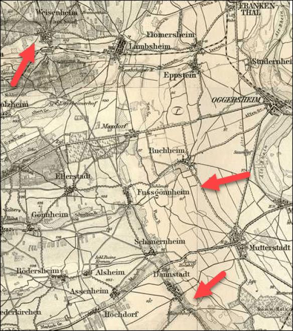 Koob Weissenheim am Sand atlas