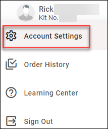 eka account settings