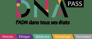 Logo de DNA Pass avec toutes ses activités